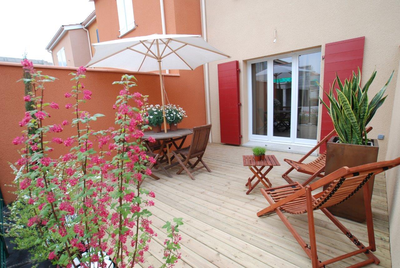 Appartement de village T3, Terrasse